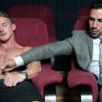 Geiler Gaysex im Sexkino