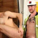 Gay Sex auf der Baustelle